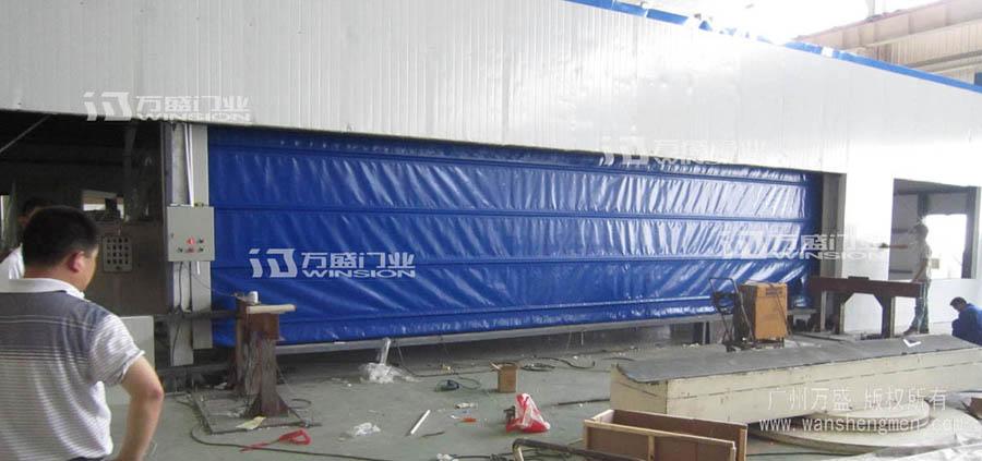 DJM-3000型超大快速堆积门