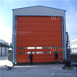 DJM-1500型钢质快速堆积门