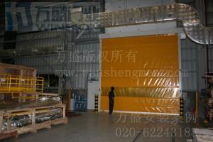 东莞大岭山双叶机械厂安装案例