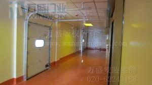 北京统一饮品有限公司快速卷帘门安装案例