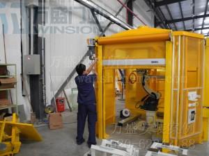 广州北斗汽车装备有限公司快速卷门安装案例