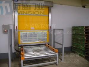 湖北武汉顶津食品有限公司快速卷门安装案例