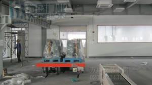 湖北荆州恒隆汽车精密有限公司快速卷帘门安装案例