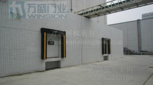 广州顶益食品有限公司工业快速门安装案例